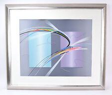 """Tiko"" Modern Abstract Limited Edition Lithograph signed Elba Alvarez"