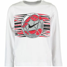Nike Long Sleeve Top Tee White Size 3-4YRS