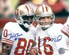 Joe Montana and Jerry Rice Reproduction signed archival quality photo 01