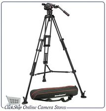 Manfrotto Nitrotech N8 Video Head & 546B Pro Tripod (Mid Spreader) # MVKN8TWINM