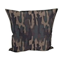 Puzzle Pattern Camo / Camouflage Army Cotton Canvas Pillow Case / Cushion Cover