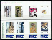 Ireland 2019 MNH Bridges Europa Bees Ships 2x 4v S/A Booklet Art Stamps