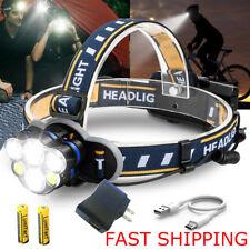 2018 Bright 90000LM XM-L T6 LED Headlamp Headlight Flashlight Head Torch CAMPING