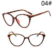 2019 Women Cat Eye Frame Clear Lens Ladies Glasses Retro Vintage Eyeglasses Lady
