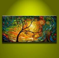ZOPT176 100% hand painted abstract landscape art OIL PAINTING ON CANVAS