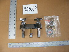 """Chicago 525-cp mix faucet kitchen restaurant Commercial brass 4"""" sink mount new"""