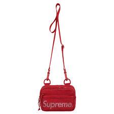 Supreme Small Mesh Side Bag Dark Red SS20 Cordura Shoulder Bag Box Logo