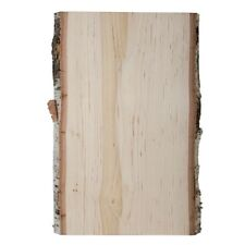 WALNUT HOLLOW SMALL BIRCH WOOD PLANK WITH BARK 12 INCHES DIY