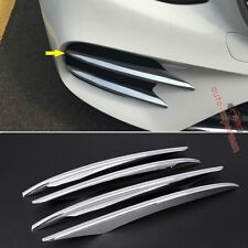 Chrome bumper Fog light grille vent cover trim Mercedes-Benz E-CLASS W213 2017