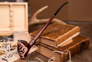 Dr. Watson - Churchwarden Tobacco Smoking Pipe - TREE OF GONDOR - Tolkien's LOTR