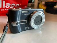 Panasonic Lumix DMC-TZ2 Iconic Leica Lens 6MP 10x Super Zoom Digital Camera