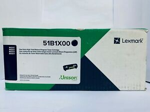 Genuine Lexmark 51B1X00 Toner Cartridge - Black | MS517/MS617/MX517/MX617