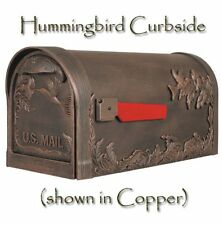 Special Lite Hummingbird Mailbox Curbside Decorative Powder Coated in 8 Colors!