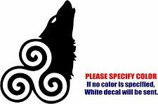 "TEEN Wolf Hale Pack Graphic Die Cut decal sticker Car Truck Boat Window Wall 12"""