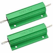 Yohii Wirewound Resistor 100w Watt 27 Ohm Aluminum Chassis Mounted Resistor