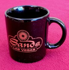 VERY COOL VINTAGE LAS VEGAS SANDS HOTEL & CASINO COFFEE CUP MUG