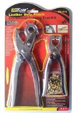 Leather Pinzatrice & Guarnizioni impostazione TOOL KIT OCCHIELLI PINZE Scarpa Cintura Borsa Tenda