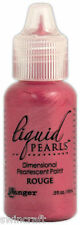 Ranger Liquid Pearls Pearlescent Paint ROUGE 18ml