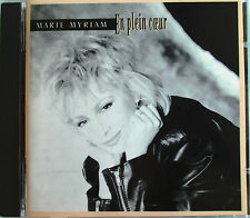 "MARIE MYRIAM - RARE CD ORIGINAL ""EN PLEIN COEUR"""