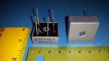 Rectifier Bridge, 25A, 200V, Through Hole, Metal Case, MICROSEMI, MB252W, 2 Pcs