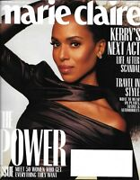 Marie Claire Magazine Kerry Washington The Power Issue Fashion Travel In Style