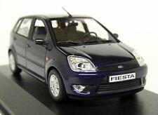 Minichamps 1/43 Scale - Ford Fiesta Mk5 2002 Dk Blue Metallic Diecast model Car