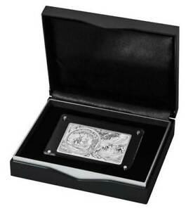 2018 RAM $1 3oz 25th Anniversary Of The Silver Kanagroo Silver Coin &Bar D6-1491