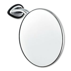 """4"""" Classic MG British Style RH Right Fender Door Mounted GT Racing Chrome Mirror"""