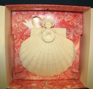 Margaret Furlong Joyeux Noel Series 1990 Celebration Angel Ornament w/ Box
