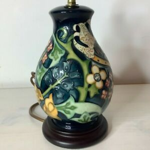 Moorcroft Lamp by Sally Tuffin