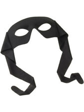 Large Adults Black Zoro Lone Ranger Cloth Tie Up Eye Mask