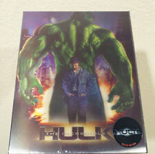 The Incredible Hulk Novamedia lenticular slip steelbook blu-ray nova media Korea