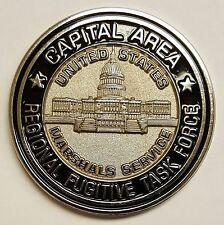 USMS United States Marshal Srvc Capital Area Regional Fugitive Task Force Coin