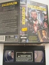Despair de Rainer Werner Fassbinder, VHS Thorn Emi, Drame, RARE!!!!