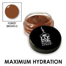 LIP INK Organic Tinted Lip Balm Moisturizer - Forest Dark Brown - 3