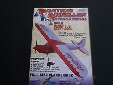 VINTAGE AVIATION MODELLER INTL MAGAZINE JULY 2000 W/FS PLANS SUNSHINE * VG-COND*