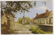 Lincolnshire postcard - Weldon Road, Hemswell
