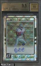 2016 Panini Donruss Elite Series Ezekiel Elliott Cowboys RC AUTO /50 BGS 9.5
