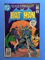 BATMAN #334  Infinity Island - The Lazarus Affair! very good