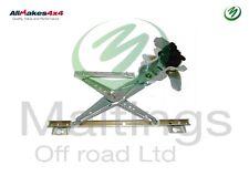 landrover defender window regulator + motor 02 onwards electric cuh000082 new