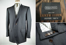 Stefano Ricci Super 160's Wool Sport Coat Jacket 54 44 R Working Cuff