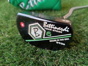 "Bettinardi Tour Stock 6 Milled Mini Mallet 370g Putter w/Headcover (33.5"")"