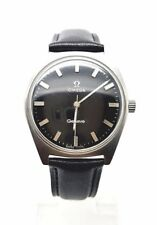 VINTAGE OMEGA GENEVE MANUALE Vento Gents watch, cal 601, 17 gioielli. USATO. (OM-01)