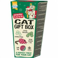 Armitage Festive Christmas Cat Gift Box Includes Toys And Catnip Treats