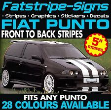 FIAT PUNTO STRIPES CAR GRAPHICS STICKERS DECALS ABARTH EVO GRANDE 1.2 1.4 2.0