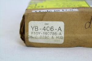 YB406A MOTORCRAFT AIR CONDITIONING AC CLUTCH HUB F10Y-19D786-A