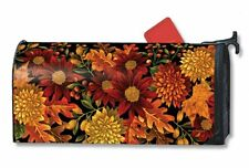 Magnet Works Welcome Fall Leaves Original Magnetic Mailbox Wrap Cover