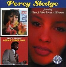 Percy Sledge -Warm & Tender Soul- When A Man Loves A Woman - Factory Sealed CD