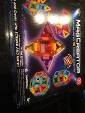 Cra-Z-Art MagCreator 3D Magnetic Construction Set 31 Pieces New