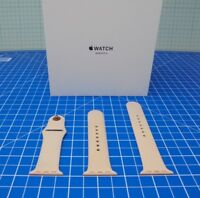 Official Apple Watch Sports Band 38mm Strap Pink Sand M/L & S/M - ZXC9